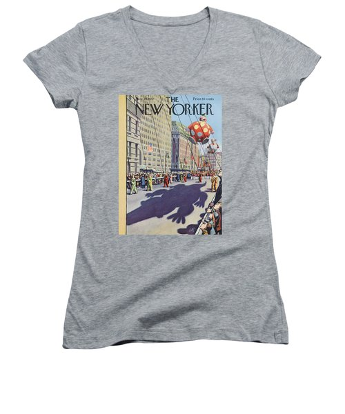 New Yorker November 29th, 1952 Women's V-Neck