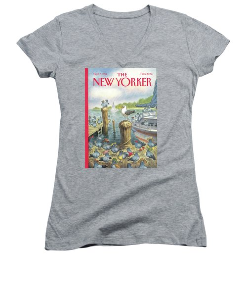 New Yorker September 5th, 1994 Women's V-Neck