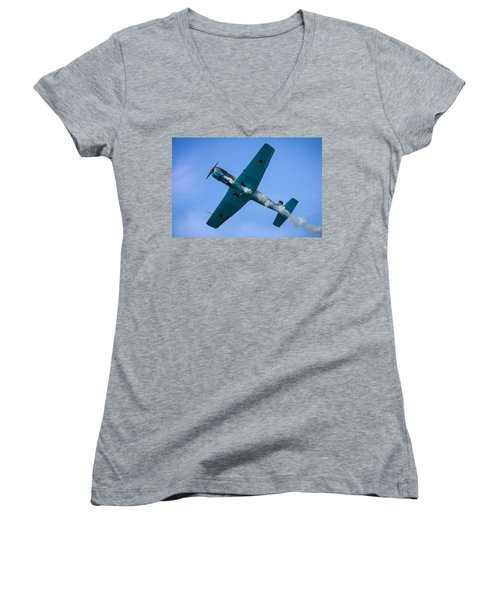 Norteast Raiders At The Greenwood Lake Airshow 2012 Women's V-Neck