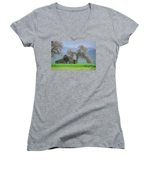 Not Much Time Left Women's V-Neck T-Shirt