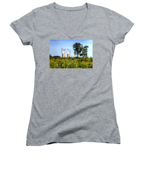 Nuclear Hdr4 Women's V-Neck