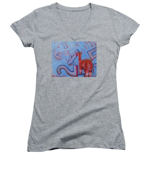Numbers? Women's V-Neck