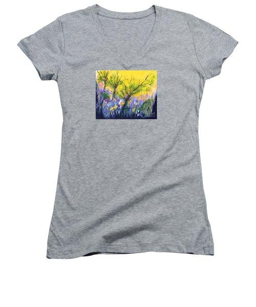 O Trees Women's V-Neck