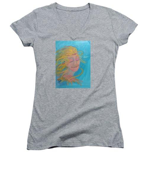 Ocean Breeze Women's V-Neck T-Shirt