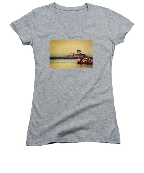 Ocean Dreams Women's V-Neck (Athletic Fit)