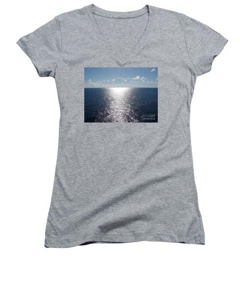 Ocean Horizon Women's V-Neck T-Shirt