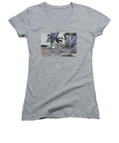 Ocean Kayacks Women's V-Neck T-Shirt