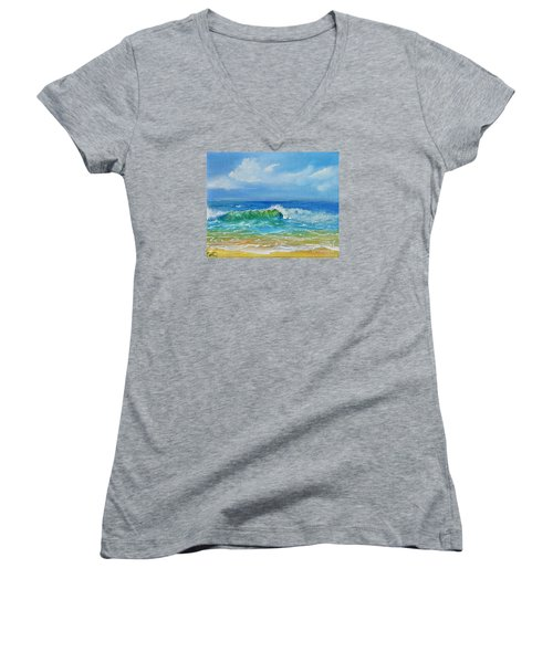 Oceanscape Women's V-Neck T-Shirt