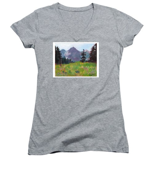 Off The Trail 2 Women's V-Neck T-Shirt