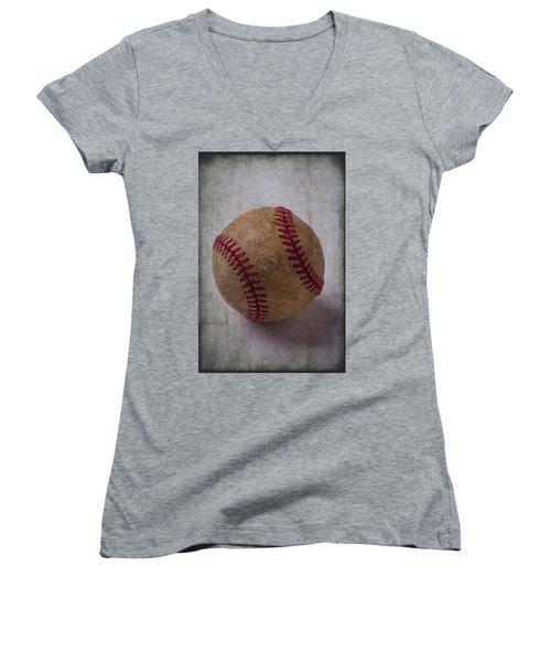 Old Baseball Women's V-Neck