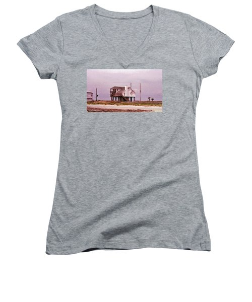 Old Galveston Women's V-Neck (Athletic Fit)