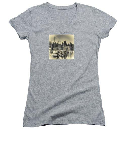 Olympia Marina 1 Women's V-Neck T-Shirt
