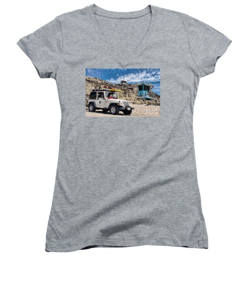 On Duty Women's V-Neck T-Shirt