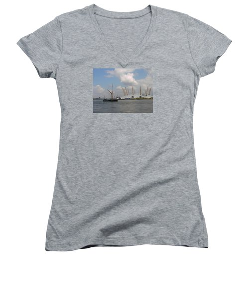 On The Thames Women's V-Neck (Athletic Fit)