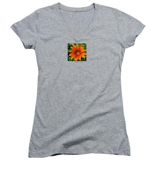 Orange Sunshine Women's V-Neck T-Shirt