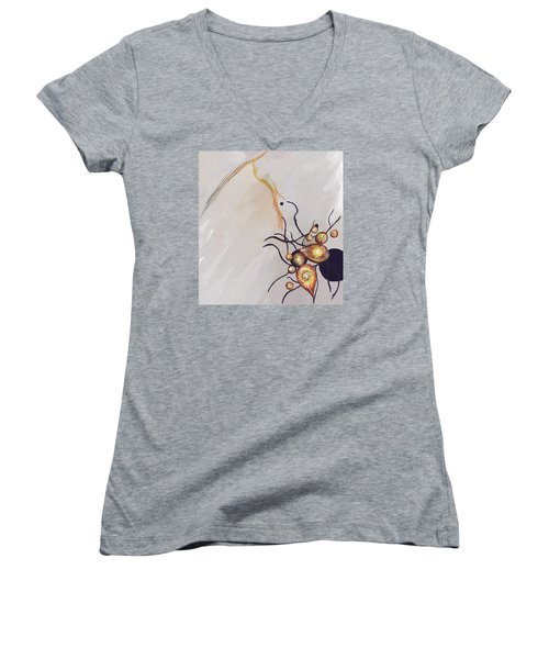 Organic Abstraction Women's V-Neck T-Shirt