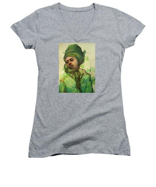 Osanyin Women's V-Neck T-Shirt