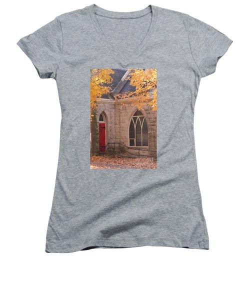 Ottumwa Church Women's V-Neck T-Shirt