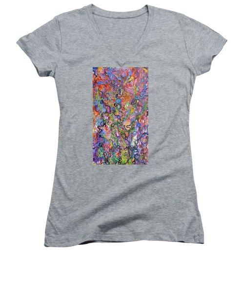 Out Of Balance Women's V-Neck T-Shirt
