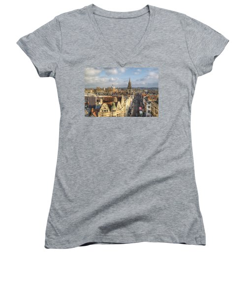 Oxford High Street Women's V-Neck T-Shirt