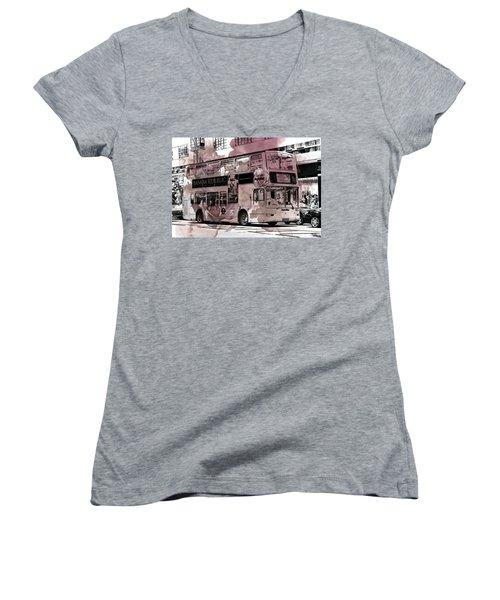 Oxford Street Women's V-Neck (Athletic Fit)