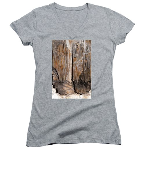 Painted Grotto Carlsbad Caverns National Park Women's V-Neck