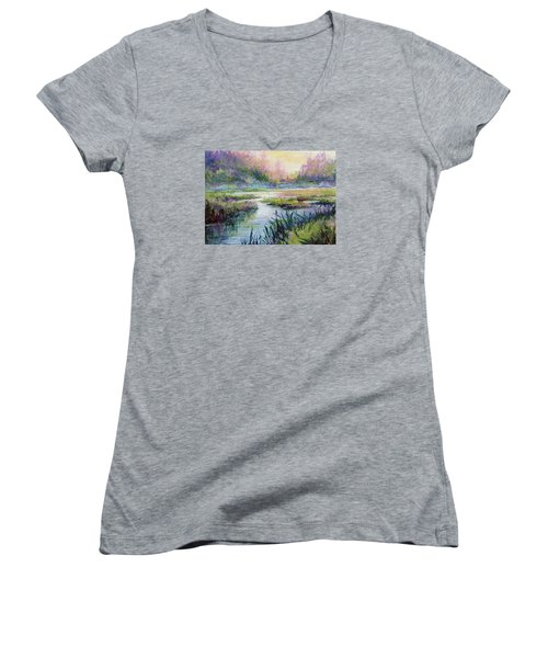 Palmer Hayflats Women's V-Neck T-Shirt