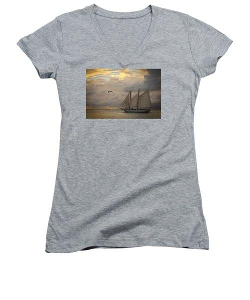Paradise Calling Women's V-Neck T-Shirt