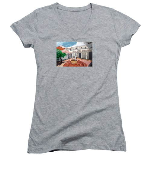 Patio Colonial Women's V-Neck T-Shirt