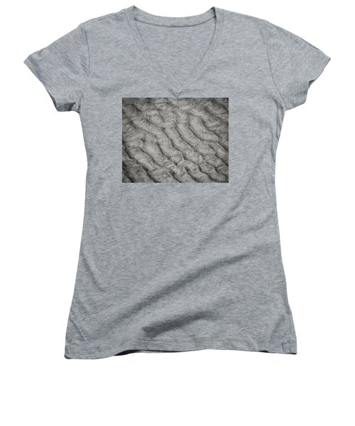Patterns In The Sand Women's V-Neck