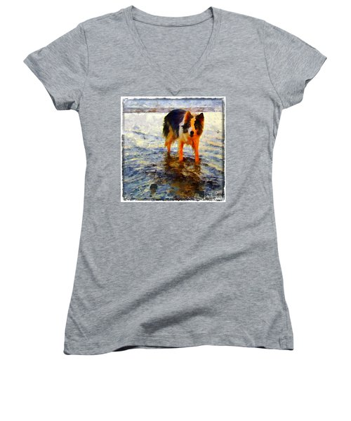 Paws For Thought Women's V-Neck