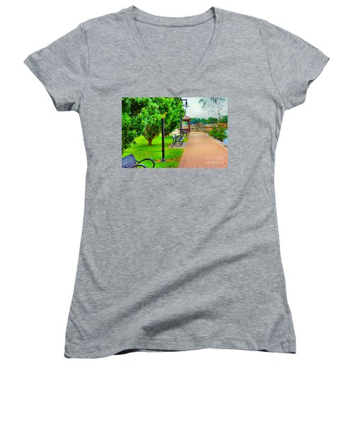 Peace Of Mind Women's V-Neck (Athletic Fit)