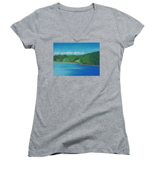 Peaceful Beginnings Women's V-Neck