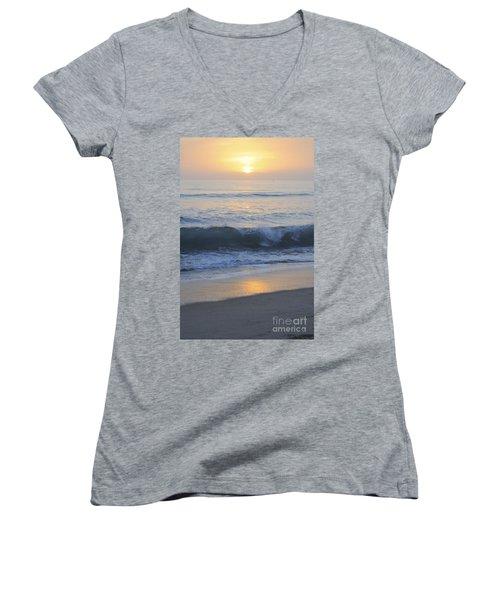 Peaceful Sunset Women's V-Neck