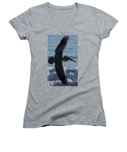 Pelican Flight Women's V-Neck (Athletic Fit)