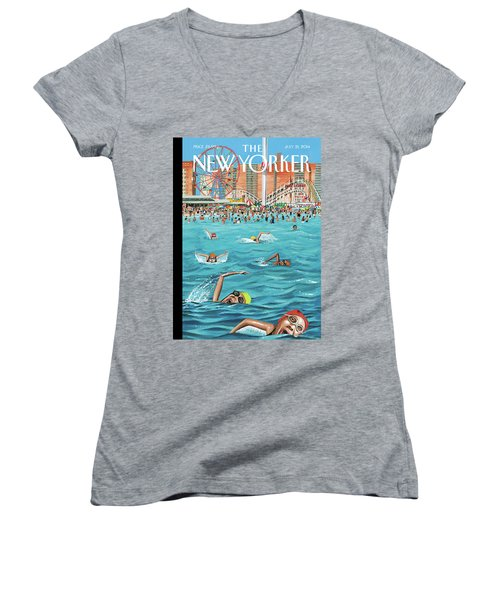 Coney Island Women's V-Neck