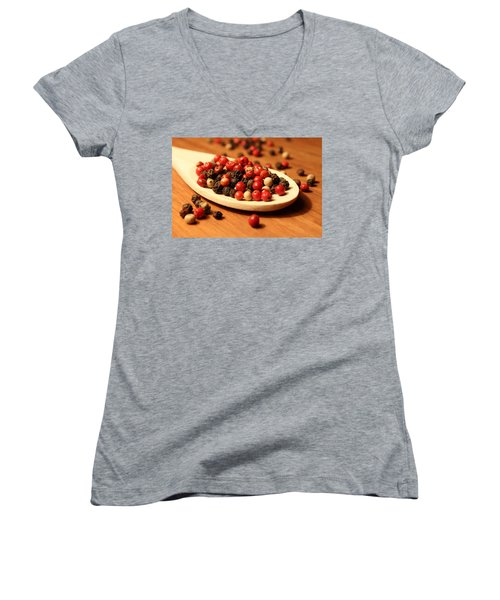 Peppercorns Women's V-Neck T-Shirt