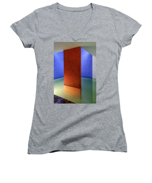 Physical Abstraction Women's V-Neck T-Shirt