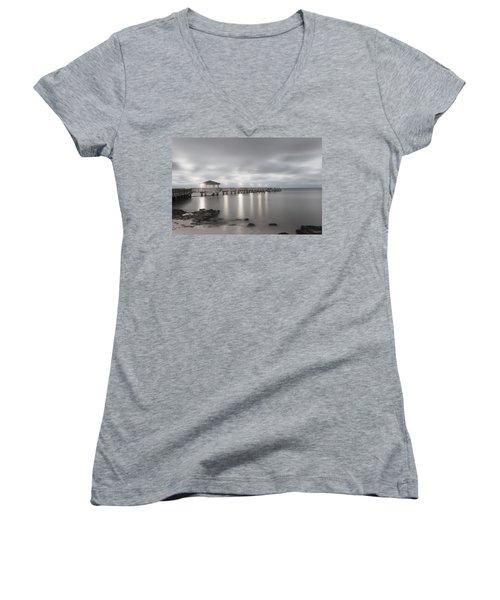 Pier II Women's V-Neck T-Shirt