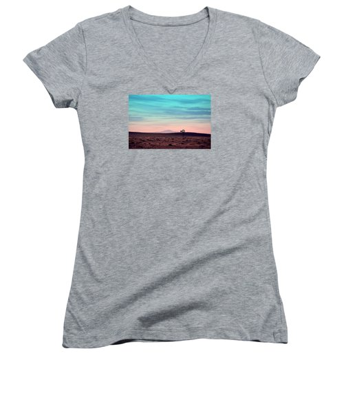 Pikes Peak To Prairie Women's V-Neck (Athletic Fit)
