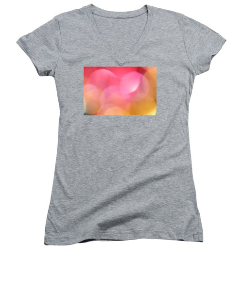 Pink Moon Women's V-Neck
