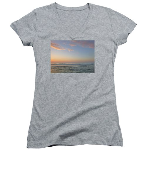 Pink Morning Women's V-Neck T-Shirt