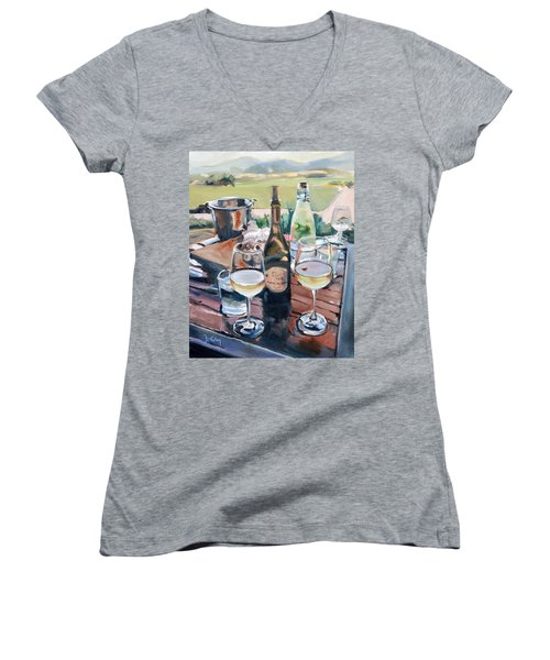Pippin Hill Picnic Women's V-Neck T-Shirt