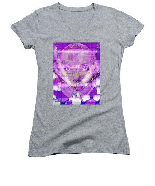 Plastic Surgery Women's V-Neck T-Shirt (Junior Cut) by Seth Weaver