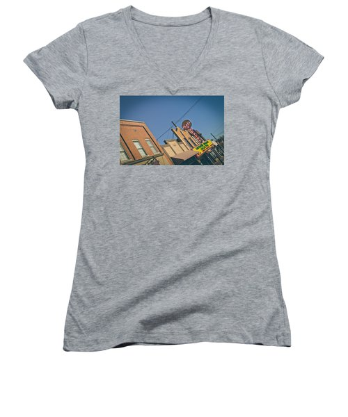 Plaza Theatre Women's V-Neck