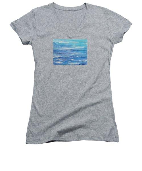 Pleasure 2 Women's V-Neck T-Shirt (Junior Cut) by Teresa Wegrzyn