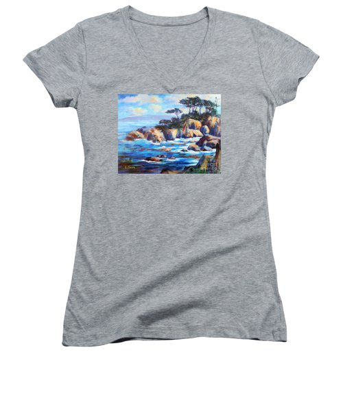 Point Lobos Women's V-Neck