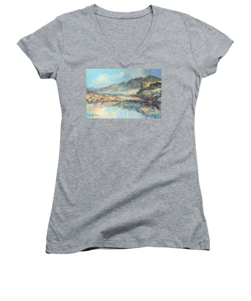 Poland - Tatry Mountains Women's V-Neck (Athletic Fit)