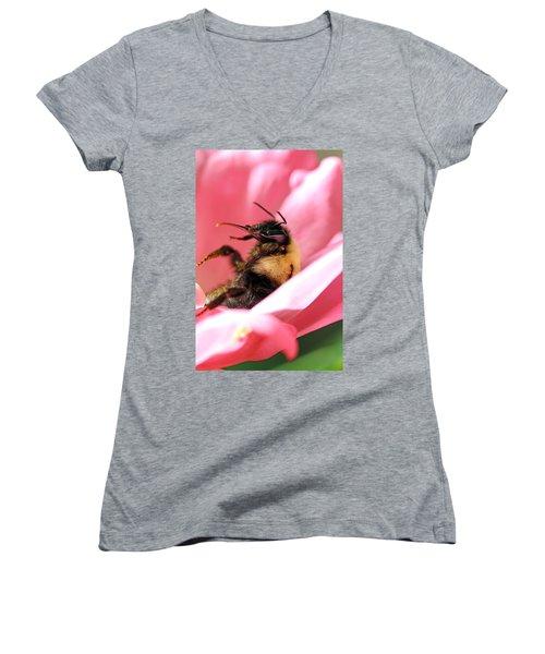 'pollen High' Women's V-Neck