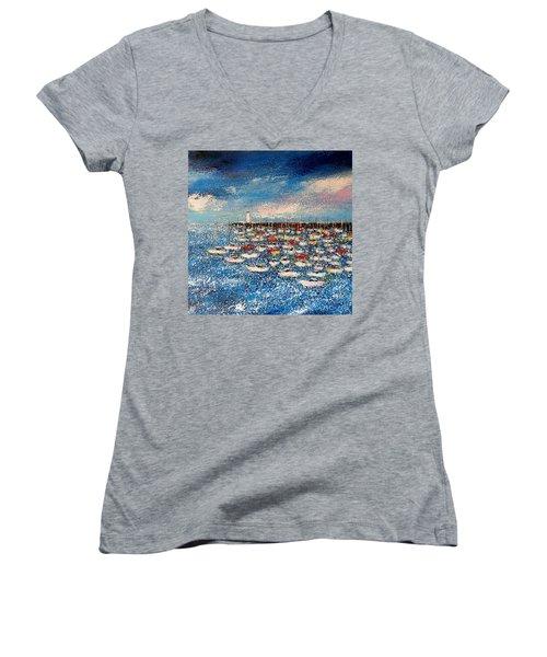 Port Women's V-Neck T-Shirt